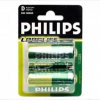 Батарейки R 20 Philips LongLife (24/120)